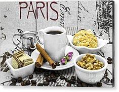 Coffee Still Life Acrylic Print