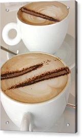 Coffee Time 3 Acrylic Print by Jez C Self