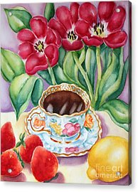 Coffee With Flavour Acrylic Print