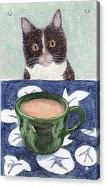 Coffee With Henry #4 Acrylic Print