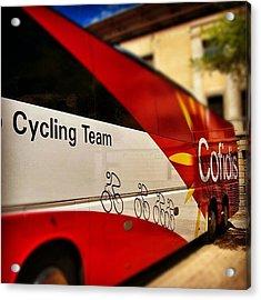 #cofidis #cycling # Team Acrylic Print