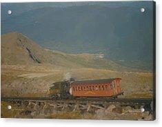 Cog Railway Mount Washington Acrylic Print
