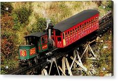 Cog Railway Vintage Acrylic Print