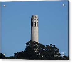 Coit Tower San Francisco Acrylic Print