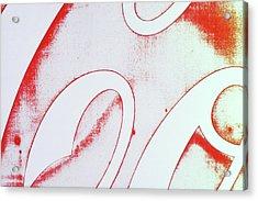 Coke 2 Acrylic Print by Laurie Stewart