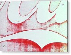 Coke 4 Acrylic Print by Laurie Stewart