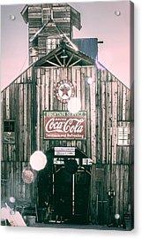 Coke Barn Acrylic Print