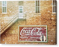 Acrylic Print featuring the photograph Coke Classic by Darren White