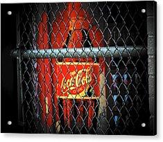 Coke Acrylic Print