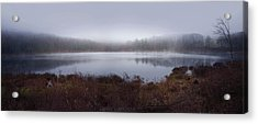Cold And Misty Morning... Acrylic Print