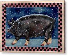 Cold Bacon Acrylic Print