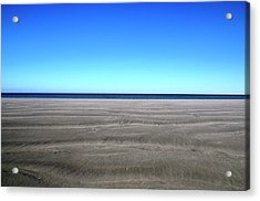 Cold Beach Day Acrylic Print