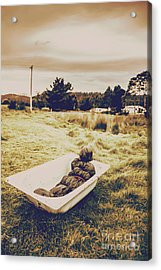 Cold Case Of Retro Crime Acrylic Print by Jorgo Photography - Wall Art Gallery