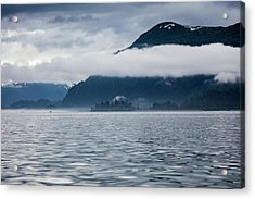 Cold, Cloudy Morning Acrylic Print