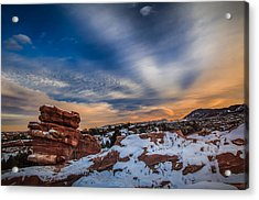 Cold Comfort Acrylic Print by Philip Esterle