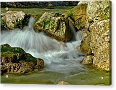 Cold Milky Creek Acrylic Print