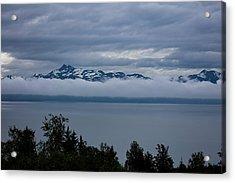 Cold Morning In Alaska Acrylic Print