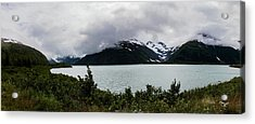 Cold Morning Panorama Acrylic Print