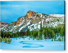 Cold Mountain Acrylic Print