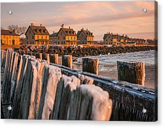 Cold Row Acrylic Print