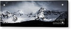 Acrylic Print featuring the photograph Cold Spring - San Juan Mountains, Colorado by The Forests Edge Photography - Diane Sandoval