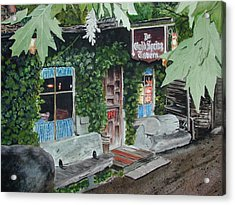 Cold Spring Tavern Acrylic Print by Dwight Williams