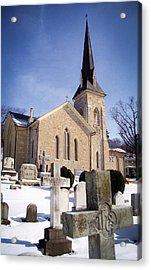 Acrylic Print featuring the photograph Cold Stone Service by T Brian Jones