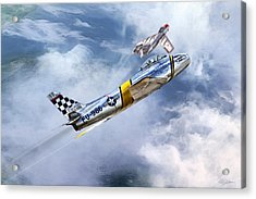 Cold War Clash Acrylic Print by Peter Chilelli