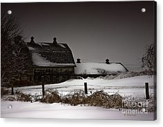 Cold Winter Night Acrylic Print