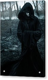 Coldnight Acrylic Print by Cambion Art