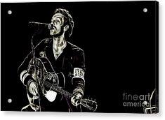 Coldplay Collection Chris Martin Acrylic Print