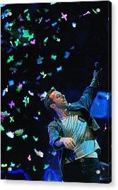 Coldplay1 Acrylic Print by Rafa Rivas