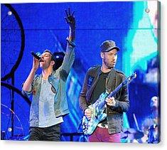 Coldplay6 Acrylic Print by Rafa Rivas