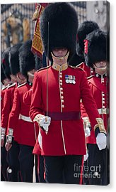 Coldstream Guards Acrylic Print