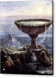 Cole: Titans Goblet, 1833 Acrylic Print by Granger
