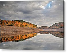 Colebrook Reservoir - In Drought Acrylic Print