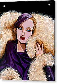 Colette Acrylic Print by Tara Hutton