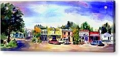 Colfax Main And Church Street Acrylic Print
