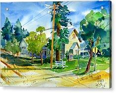Colfax Methodist Church Acrylic Print
