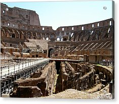Coliseum 2 Acrylic Print by Blima Efraim