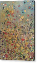 Collaboration Of Colors Acrylic Print by Jacob Stempky