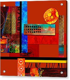 Collage Abstract 2 Acrylic Print
