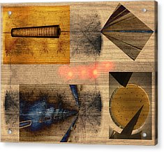 Collage - Cle Airport Acrylic Print