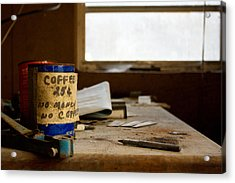 Collections Acrylic Print by Kevin Brett