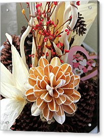 Collections Acrylic Print by Lorna Maza