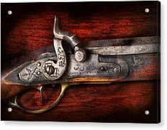 Collector - Gun - Rifle Works  Acrylic Print by Mike Savad