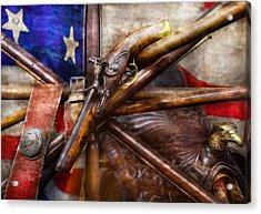 Collector - Guns - How The War Was Won  Acrylic Print by Mike Savad
