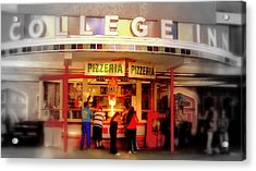 College Inn Acrylic Print by Andrew Gillette