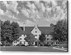 College Of Wooster Douglass Hall Acrylic Print by University Icons