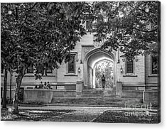 College Of Wooster Kauke Arch Acrylic Print by University Icons